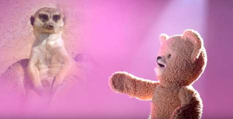 Serenading Teddy Bear Commercials