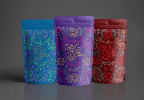 Whimsical Milk Tea Branding