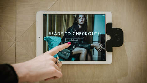 Mobile Self-Payment Systems - Rebecca Minkoff's Self-Checkout Solution is Powered by QueueHop