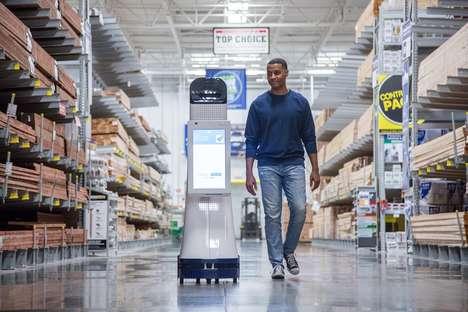 Autonomous Retail Robots