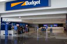 Mobile Rental Car Payments - The Avis Budget Group Has Introduced Visa Checkout at Kiosks