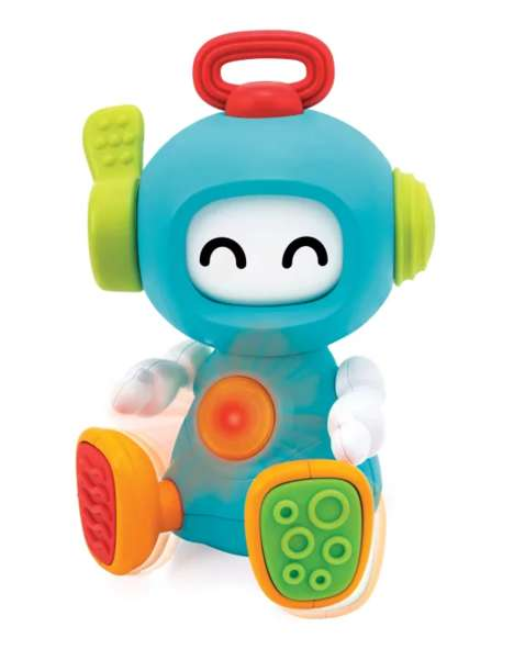 Sensory Development Robots - Infantino's Sensory Toy Features Different Textures, Sounds and Colors