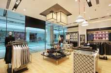 Upscale Menswear Boutiques - The Cadini in Pune India Feature Luxurious, Yet Modern Touches