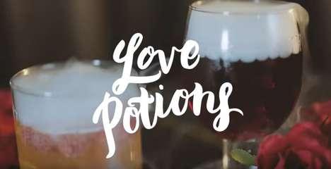 Romantic Cocktail Tutorials