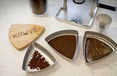 Coffee Grounds Separators - The Kruve Coffee Grind Sifter Ensures Only the Best Grounds are Used