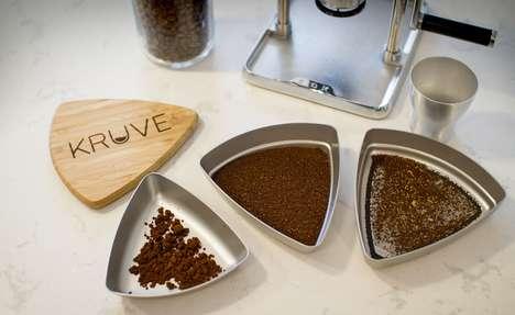 Coffee Grounds Separators