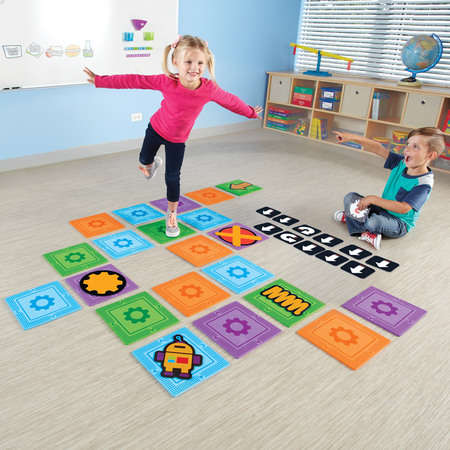 No-Tech Coding Toys - The 'Let's Go Code! Activity Set' for Kids Teaches Programming Without Tech