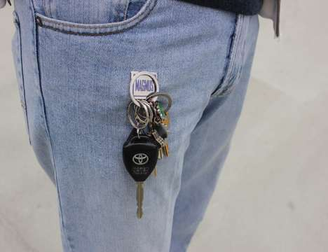 Magnetic Keychain Holders