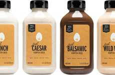 Versatile Dairy-Free Dressings - The Hampton Creek Just Dressings for Food are a Healthier Option