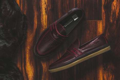 Athletic Sneaker Penny Loafers