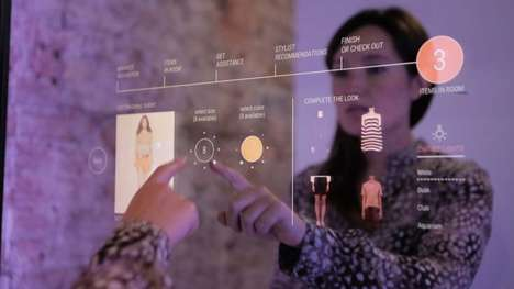 Transactional Smart Mirrors