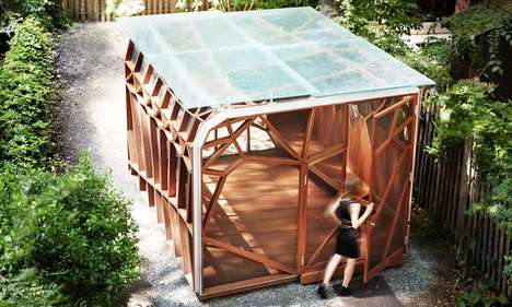 Insect Wing-Inspired Pavilions