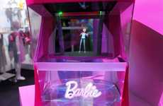 Responsive Holographic Dolls - 'Hello Barbie Hologram' Gives Kids a New Way to Interact with Barbie