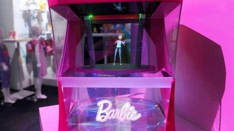 Responsive Holographic Dolls