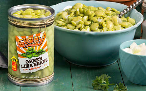 Transparent Bean Can Branding