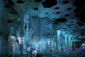 Robotically Knitted Solar Canopies