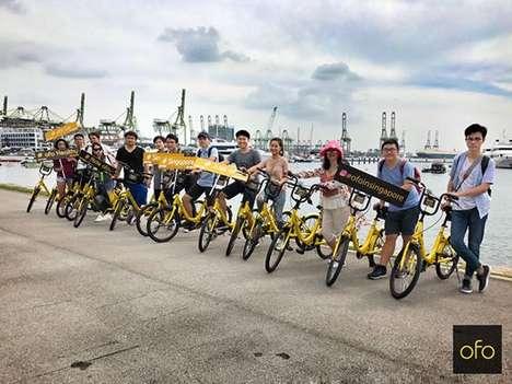 Stationless Bike-Sharing Companies