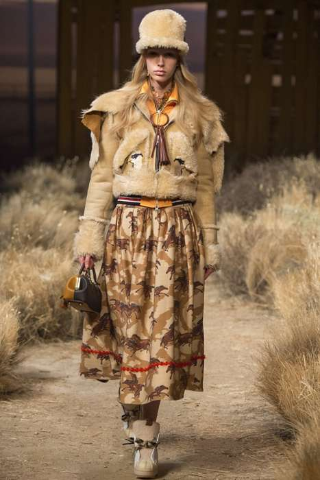 Western Streetwear Couture - The New Coach Collection Boasts Vintage Looks with a Modern Twist
