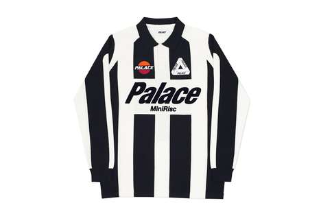 Sports-Themed Streetwear - The New Palace Collection Features Referee-Style Shirts and More