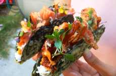 Cross-Cuisine Sushi Tacos - Norigami Tacos Serves Sushi Tacos in a Variety of Variations