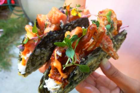 Cross-Cuisine Sushi Tacos