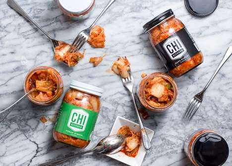 Handcrafted Kimchi Collections - Chi Kitchen's Products are Created from Local Ingredients