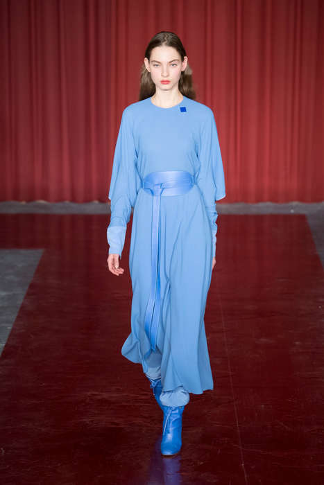 Commemorative Color Collections - 'Nicoll Blue' Honors the Career of Late Designer Richard Nicoll