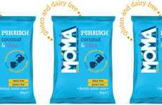 Creamy Dairy-Free Porridges - MOMA Foods Coconut & Chia Instant Porridge is Made with Coconut Milk