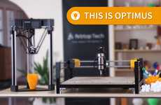Modular Multifunctional 3D Printers - The 'Optimus' 3D Printer Doubles as a Desktop CNC Machine
