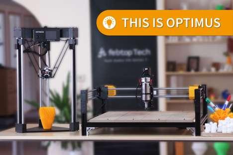Modular Multifunctional 3D Printers