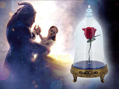 Fairy Tale Rose Speakers - The Enchanted Rose Bluetooth Speaker is an Official Disney Product
