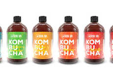 Origin-Focused Beverage Branding - The KHUYA Bottled Beverages are Raw and Healthy