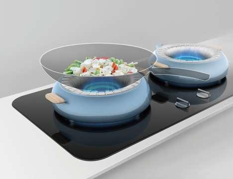 Heat-Regenerating Kitchen Kettles