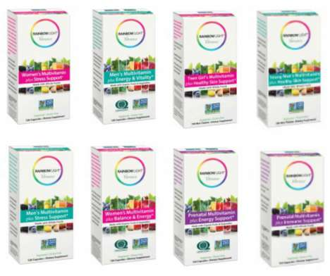 Millennial-Targeted Multivitamins - Rainbow Light's 'Vibrance' are Custom Vitamins for Health