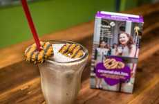 Cult Cookie Flavor Milkshakes - P'unk Burger's Girl Scout Cookie Milkshake Tributes the Iconic Treat