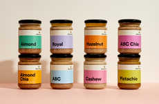 Monochromatic Nut Butter Branding