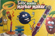 Odoriferous Marker-Making Kits - Crayola's Silly Scents Marker Maker Helps Kids Craft Custom Smells