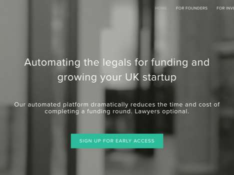 Automated Legal Platforms - SeedLegals Offers Legal Software for Startups To Close Funding Sooner