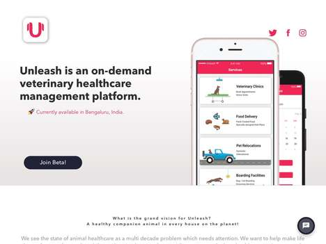 Content-Delivering Pet Apps - This On Demand Veterinary Healthcare Platform is Very Informative
