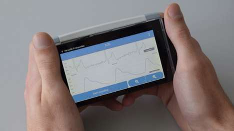 Cardiovascular Diagnosis Devices - The 'CardioSense' Portable ECG Performs Tests in 60-Seconds