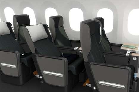 Enhanced Storage Airplane Seats
