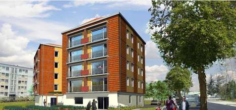 Eco Retirement Cooperatives - Chamarel Provides Co-Op Housing for Retired People in Lyon, France