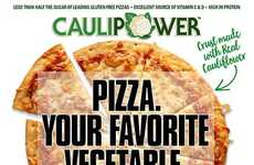 Cauliflower Crust Pizzas