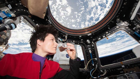 Low-Gravity Coffee Cups - 'The Space Cup' Helps Astronauts Drink Coffee in Space