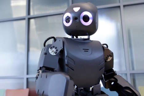 Kid-Friendly Therapy Robots - 'Darwin' Provides Robot Therapy to Children with Cerebral Palsy
