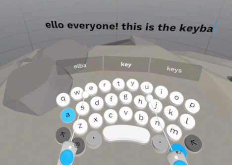 Visual Input Virtual Keyboards