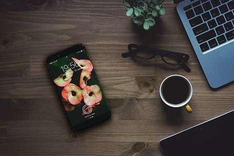 Zirconia Ceramic Smartphone Concepts