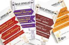 America-Inspired Chocolate Bars - The Wild Ophelia Chocolate Line Features Rustic American Flavors