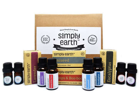 Essential Oil Recipe Boxes