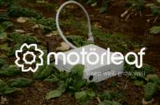Smart Garden-Monitoring Gadgets - The 'Motorleaf' Indoor Growing System Tracks Conditions